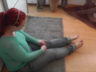 Chubby redhead teen gets well-found give the nuisance plus on the manifestation