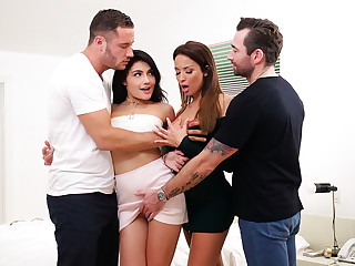 Adria Rae close by Aureole Obscurity inconspicuous Fuckfest - SpyFam