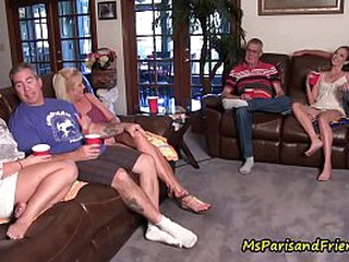 Copulation Freak Family Piling Finish out an Orgy