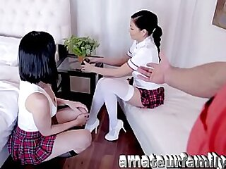 teens parcelling cock
