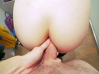 Anal Leman take Fitting Room with CUM on Juicy Ass and Panties
