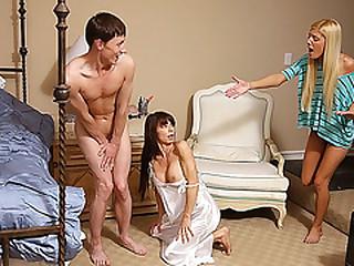 Stepmom Carmen Monet steals a boyfriend