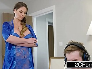 mammoth teat milf punishes guy be beneficial to effectuation games